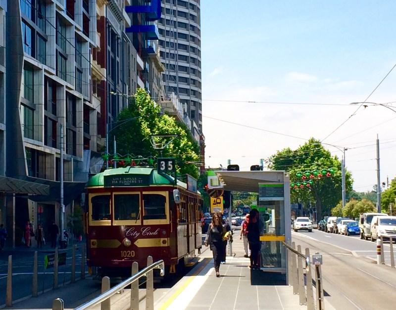 Free Circle Tram, Melbourne