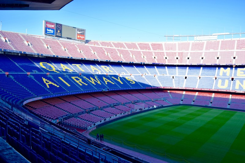 Not Camp Stadium, Barcelona
