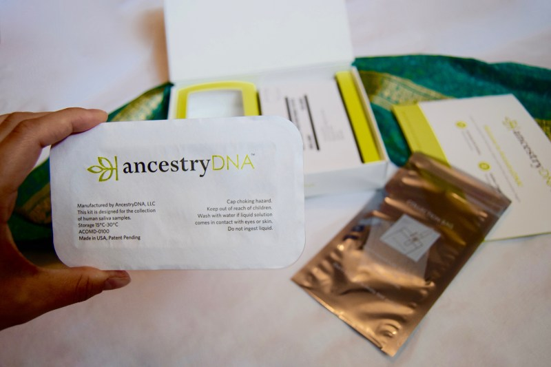 Ancestry DNA Test