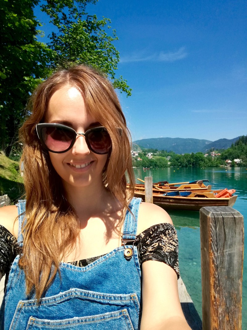 Superdry Dungarees in Lake Bled