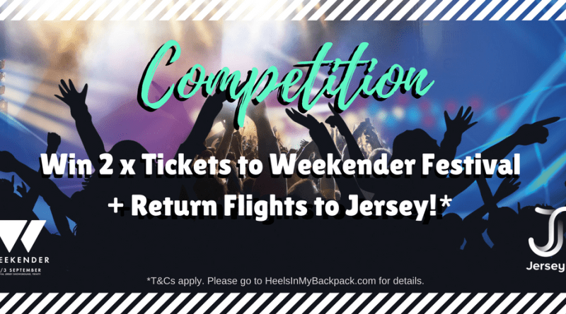 Win Tickets to Weekender Festival+ Return Flights to Jersey!(1)
