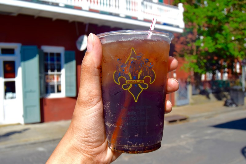 Drinks in New Orleans