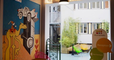 The RomeHello hostel, Rome