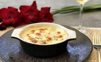 Courgette witlof lasagne