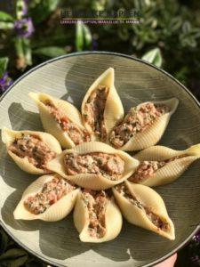 gevulde jumbo pasta schelpen