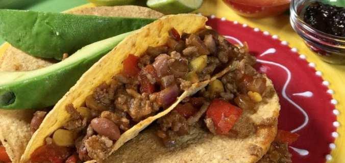 chili con carne taco's