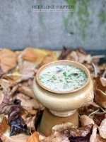 Romige champignonsoep