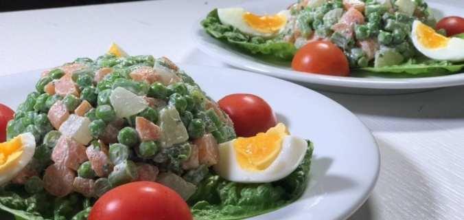 Macédoine van groenten