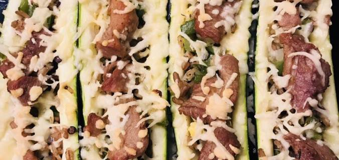 Cleaneating courgette met kalkoendij