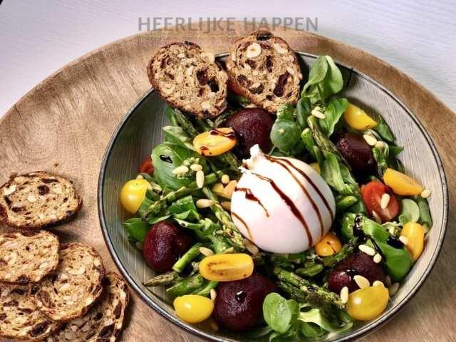 Luxe salade met burrata