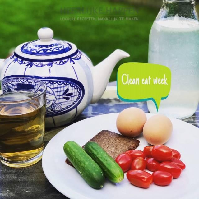 Blog Cleaneat week en Detox week