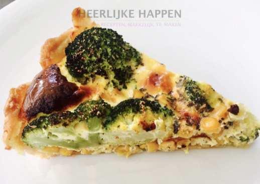 broccoli mais quiche
