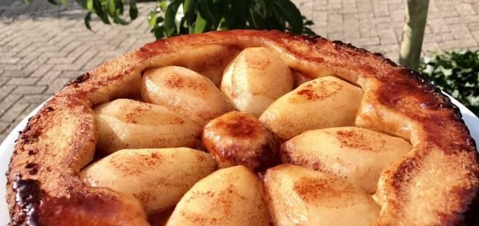 makkelijke peren tarte tatin