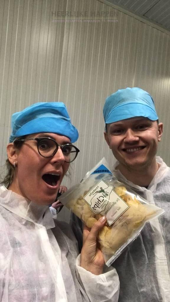 Foodbloggers bezoek aan Boerderijchips