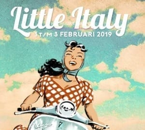 Little Italy event in Amsterdam