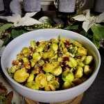 Honing mosterd Kerst spruitjes