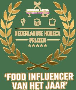 Food influencer van het jaar 2019