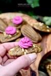 Mediterraanse madeleines met roze topping