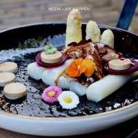 Aziatische eendenbout met asperges