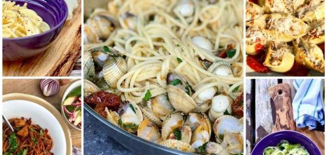 De vijf lekkerste pasta recepten