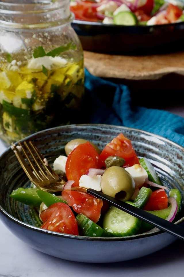 Griekse salade recept