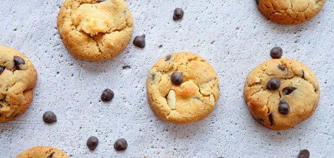 Macadamia chocolade chip cookies
