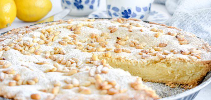 Italiaanse torta della nonna