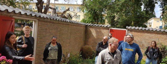Raadsleden op bezoek in Moerwijk Moerwijk Cooperatie Duurzaam Den Haag