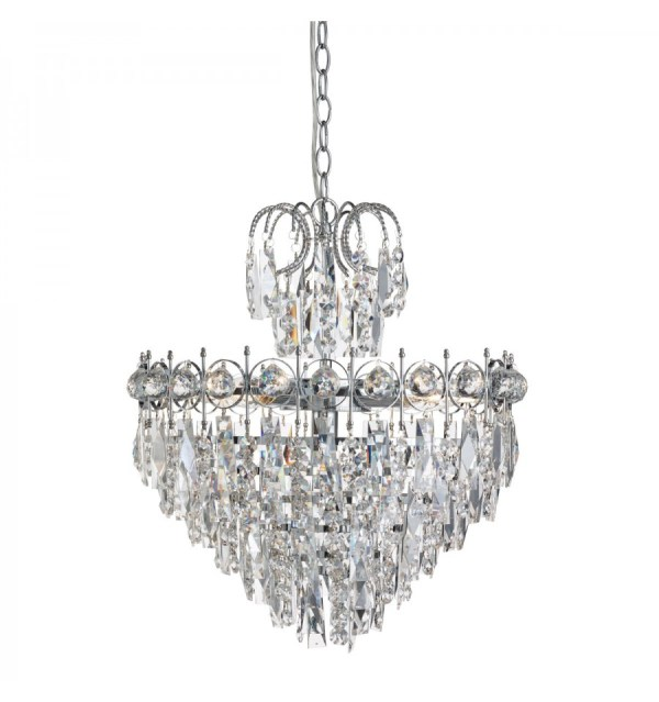 crystal chandelier tiered # 62