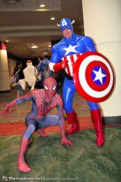 Cap and Spidey