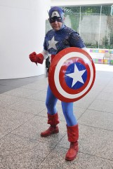 Cap with shield