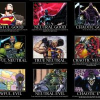 Comic Book Alignment Chart