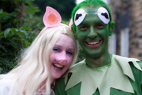 Piggy and Kermit