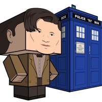 DOCTOR WHO Papercraft