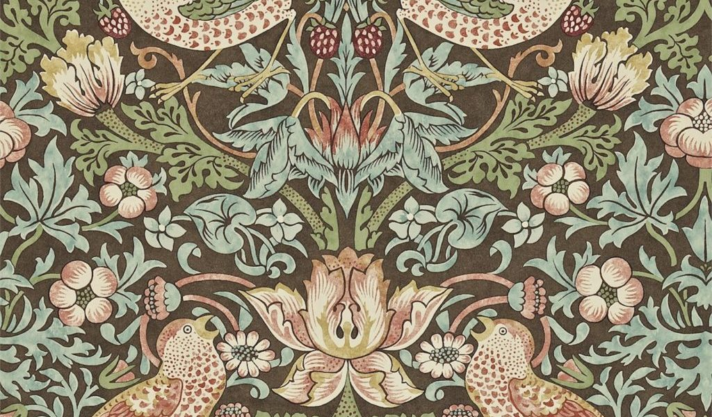 William Morris Tapet og tekstiler