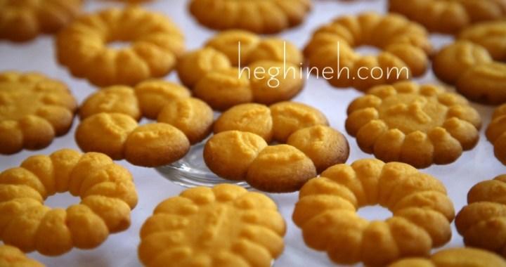 Orange Spritz Cookies Recipe