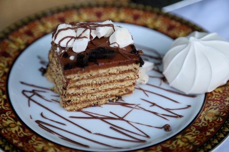 No bake nutella cake