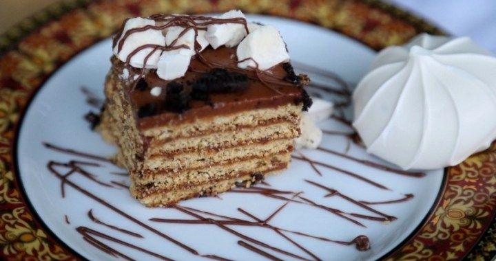 No bake nutella cake