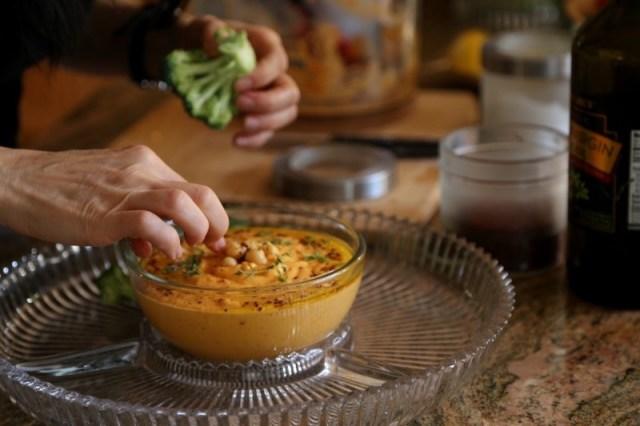 Red Pepper Hummus Recipe