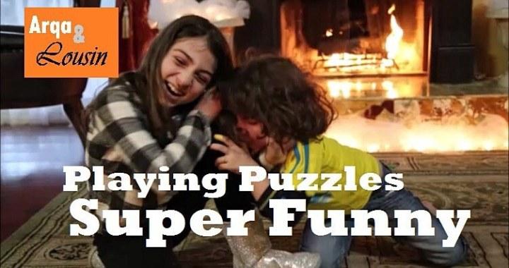Snowman Kids Puzzle Game