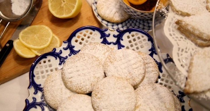 Armenian shortbread cookies