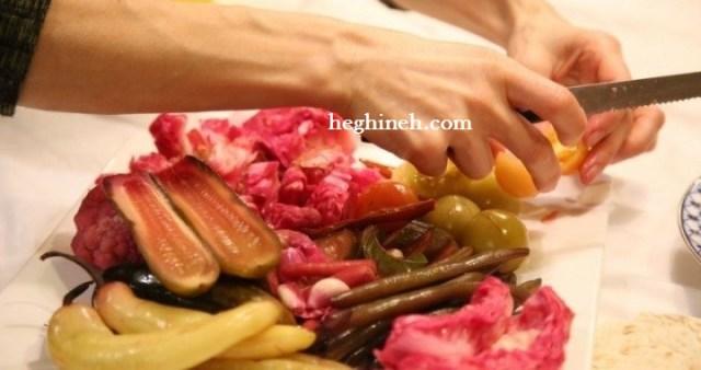 Pickled Veggies - Armenian Cuisine - Խառը Թթու