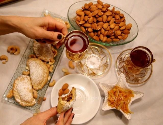 Persian Cookies Ghotab