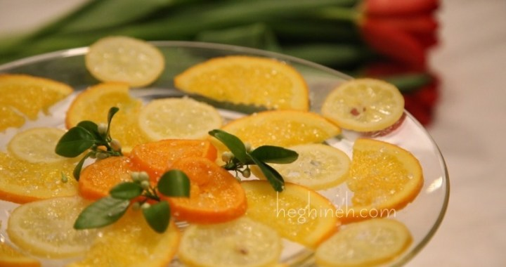 Candied Lemon Snacks