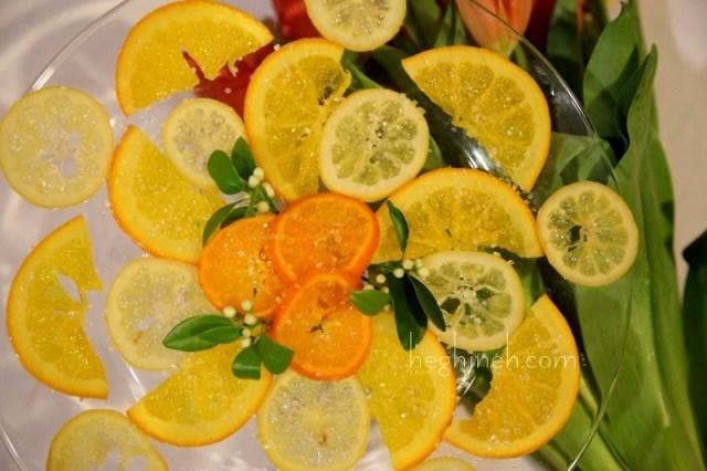 Candied Lemon Recipe - Կիտրոնի Ցուկատ