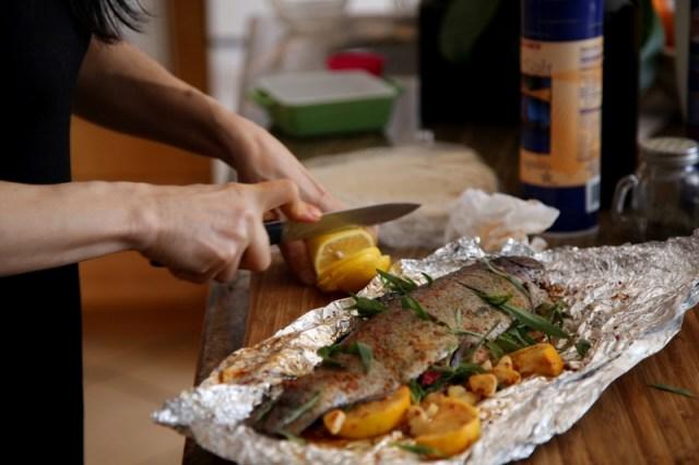 Armenian Easter Dish - Lavash Baked Fish Recipe
