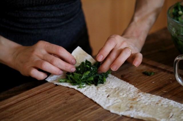 Herb Stuffed Bread Recipe by Heghineh