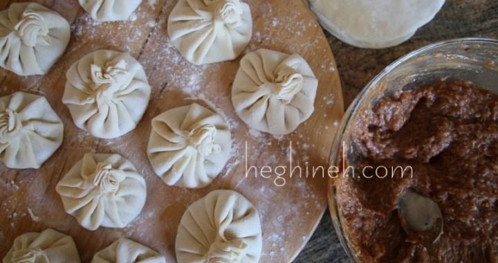 Meat Dumplings - Khinkhali Хинкали