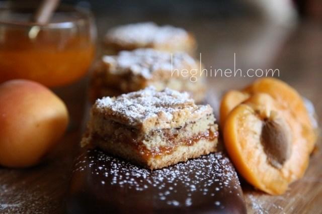 Apricot Tart Cake Recipe - Apricot Meringue Cake