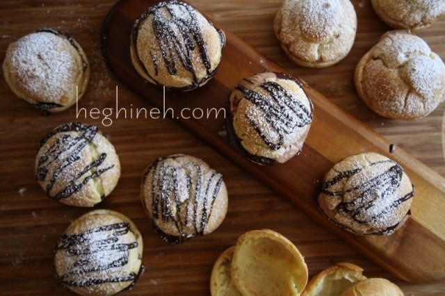 Cream Puffs Recipe - Eclair Recipe